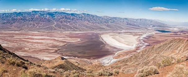 Badwater panorama from Dantes View