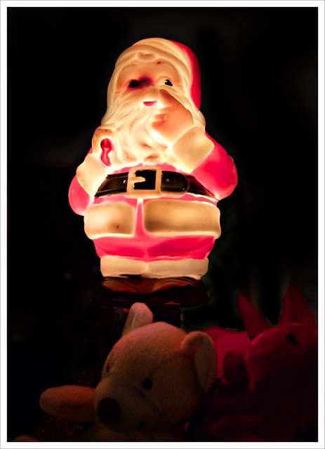 The Return of Black-Eyed Santa (349/365)