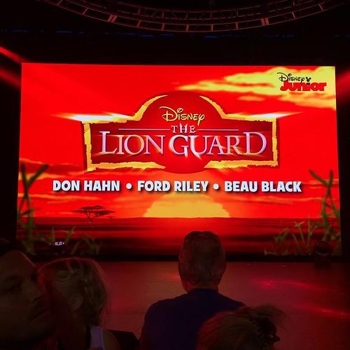 ディズニーチャンネルで放送予定の新作、The Lion Guard。