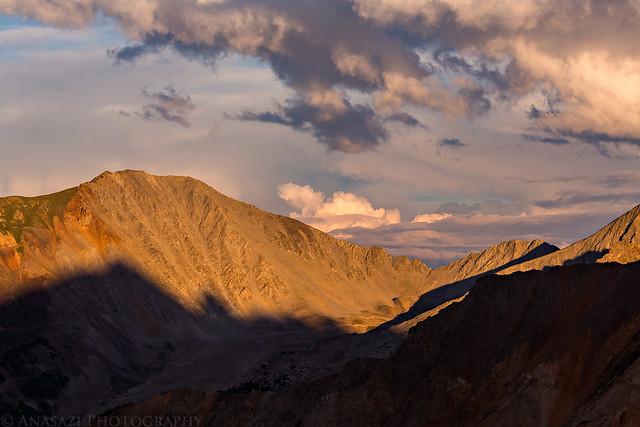 Taylor Peak Sunset