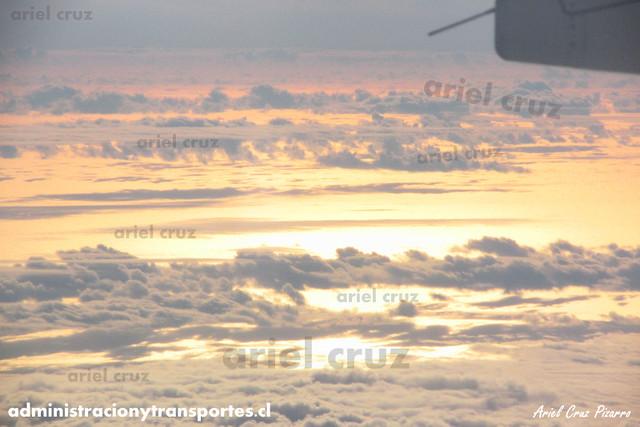 Atardecer en Vuelo Sky116