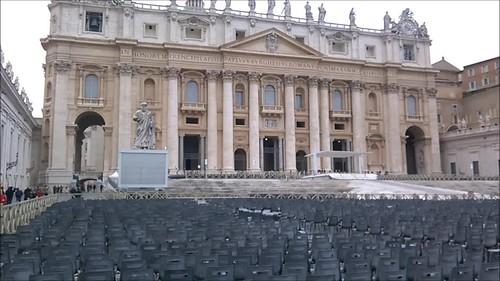 En la Plaza del Vaticano
