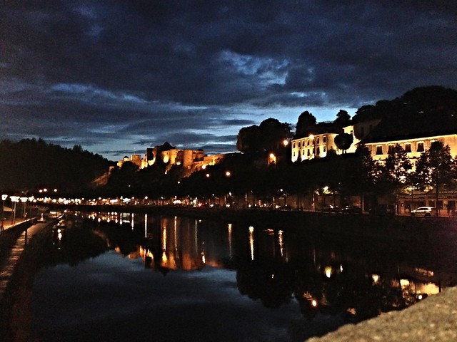 Bouillon Castle and River in the evening 2015-08-14 21.41.20-1