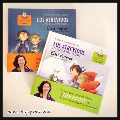 """Libro """"Los atrevidos"""" de Elsa Punset, cuentos para trabajar las emociones de los niños"""