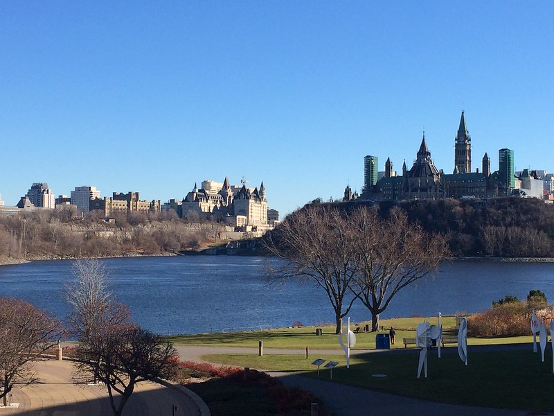 Late Autumn landscape in Ottawa-Gatineau
