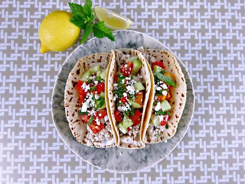 Greek Turkey Tacos 3