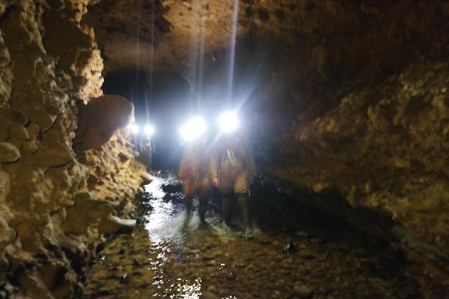 Caminando sobre el río subterráneo