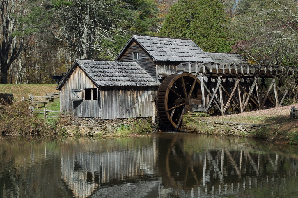 Blue Ridge Parkway 27 - Mabry Mill