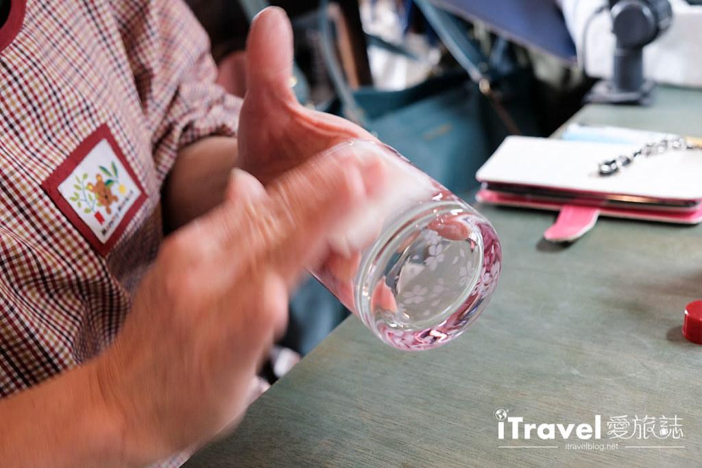 东京手作课程 喷砂玻璃工艺体验 55