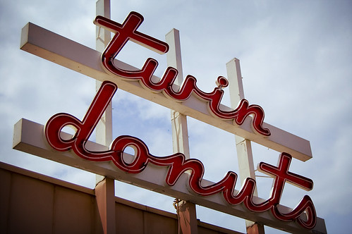 twin donuts by David Salafia, Flickr