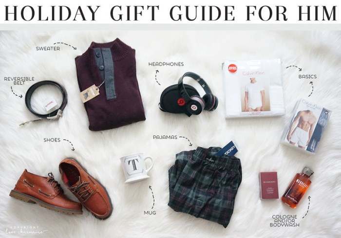 Holiday Gift Guide FOR HIM | LoveCharmaine.com