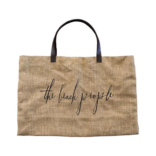 the beach people jute bag