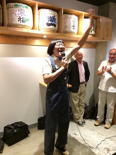 お笑いの方@Kurand SAKE Market 浅草店