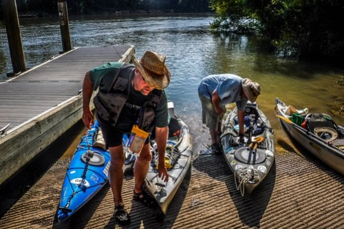 Savannah River Paddling-099