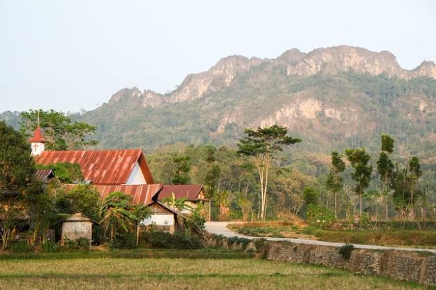 Limestone. Tana Toraja