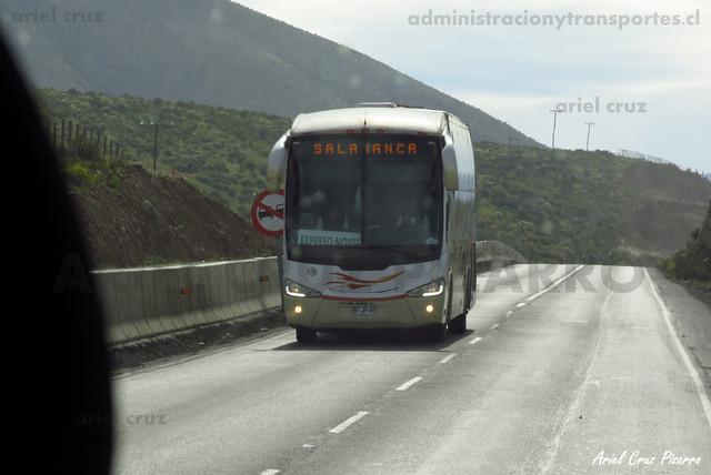 Expreso Norte - Ruta - Irizar Century 3.90 / Mercedes Benz (BJFP80)