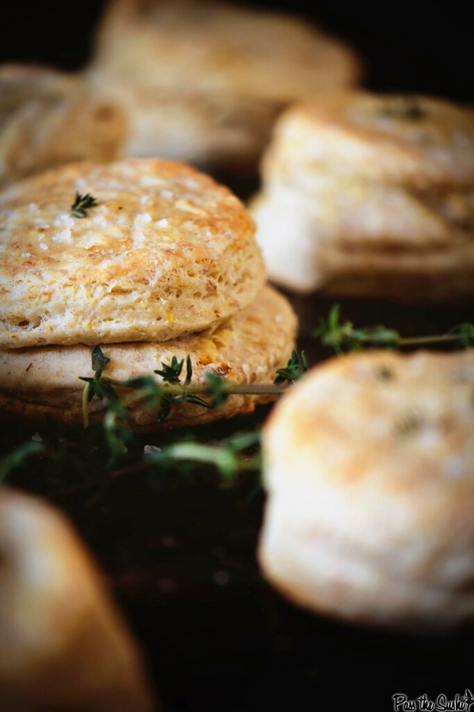 Herbed Thyme Biscuits {Pass the Sushi}