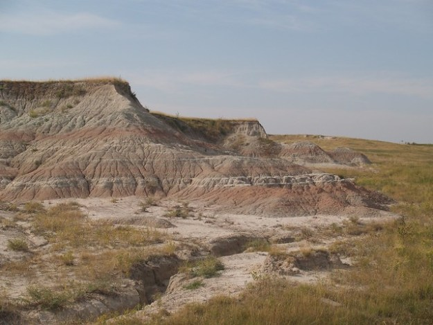 Badlands layers