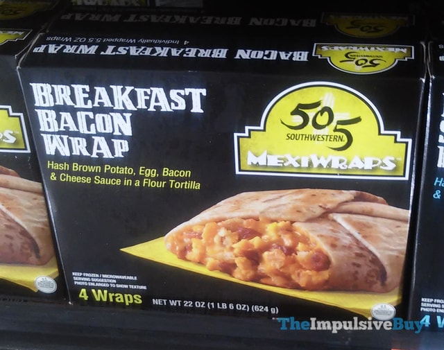 505 Southwestern Breakfast Bacon Mexiwraps