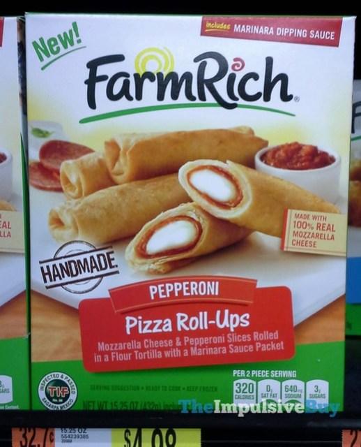 Farm Rich Pepperoni Pizza Roll-Ups