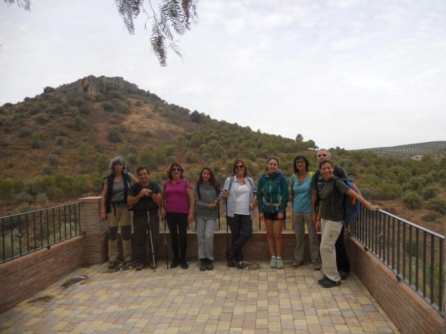 Aula Vertical: ruta de senderismo El Tempranillo 3 de octubre 2015