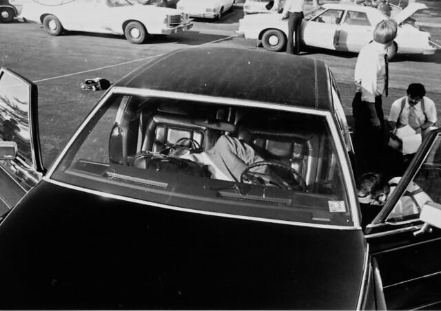 Roger Wheeler murder scene
