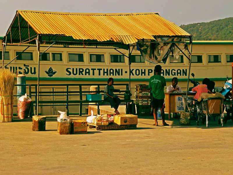6 - Carnet de Thaïlande - 06 - Port de Thong Sala