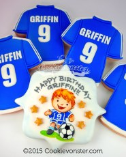 Soccer party for Griffin!
