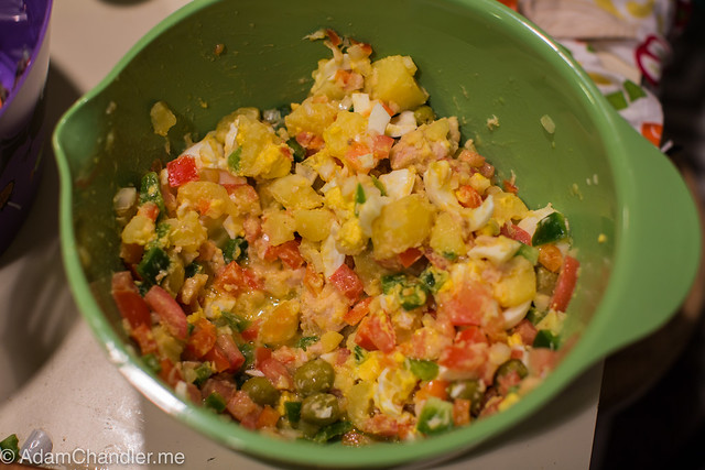 Spanish Night - Potato Salad