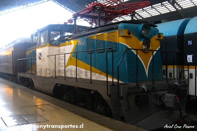 DPC2013 - Estación Central - Locomotora D1719