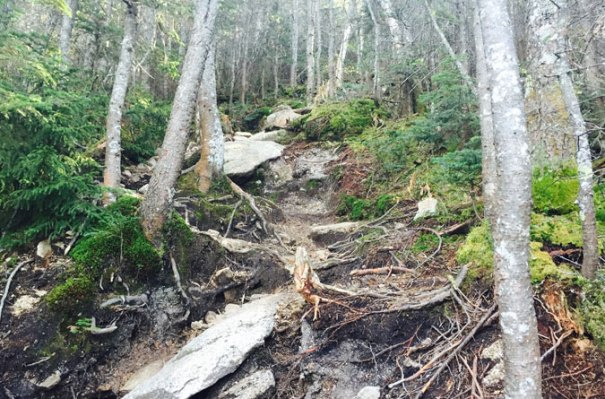 South Hancock Steep Climb