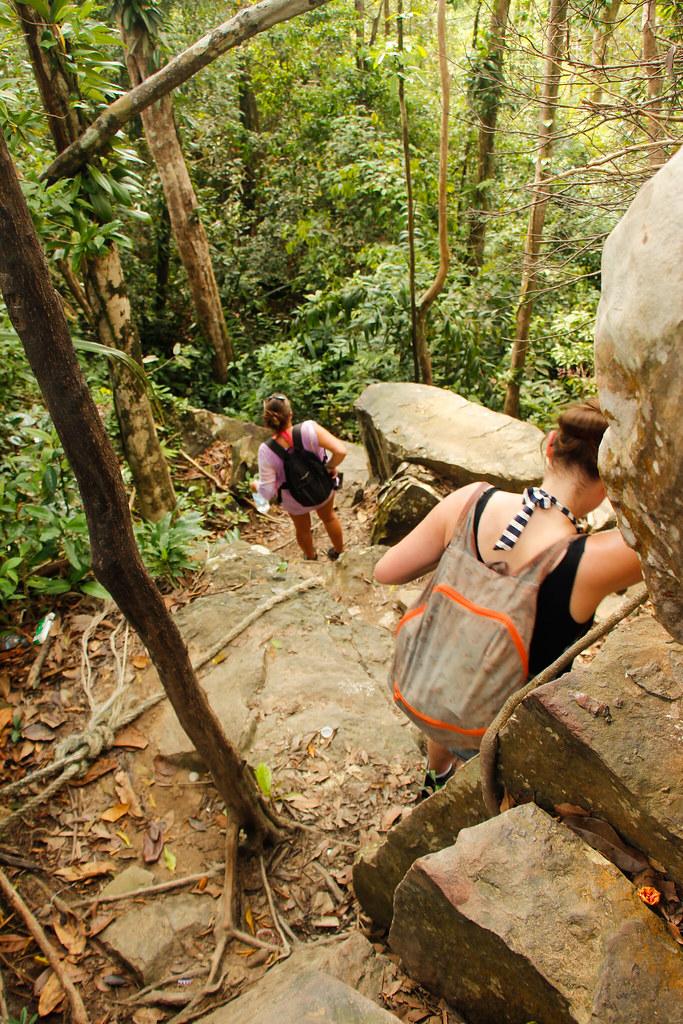 junglen på Koh Rong