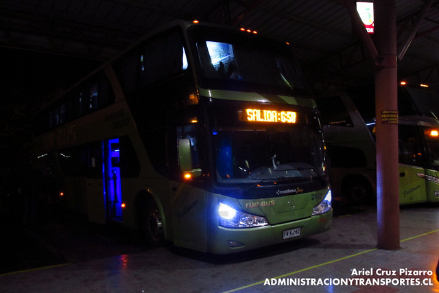 Tur Bus - Temuco - Modasa Zeus / Mercedes Benz (FWKJ62)
