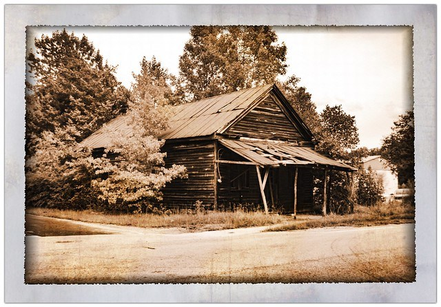 South Lynchburg Store Sepia