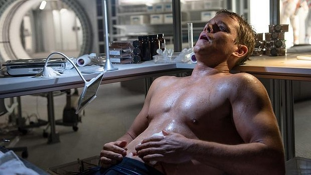 Matt damon bare body
