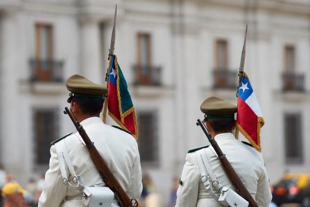 Carabineros en Chile