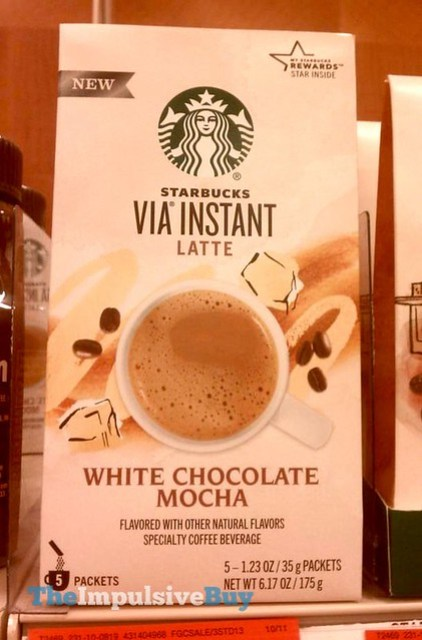 Starbucks White Chocolate Mocha Via Instant Latte