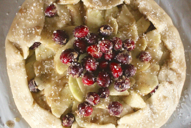 Apple Cranberry Galette - 19
