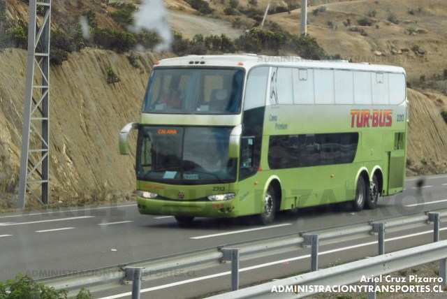 Tur Bus (Cama Premium) - Puerto Oscuro - Marcopolo Paradiso 1800 DD / Mercedes Benz (CWJG81) (2313)