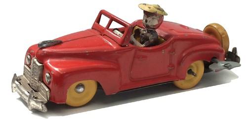 Occupied Japan Packard cabriolet