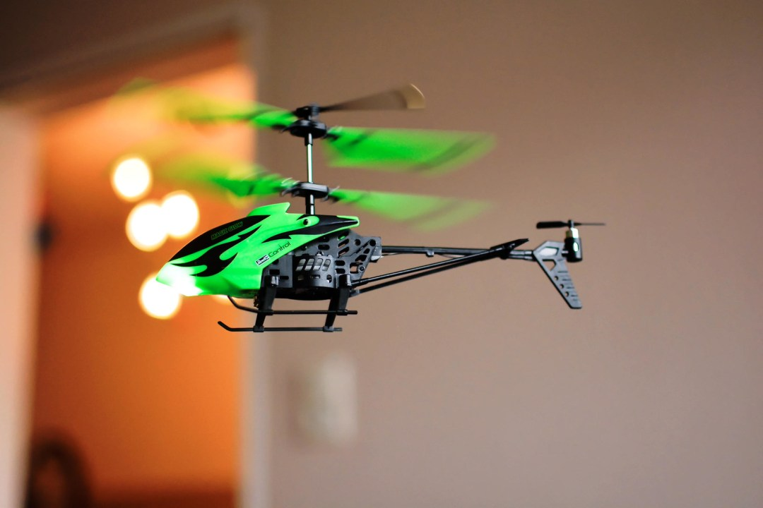 Helicopter Magic glow