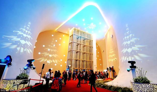 台中歌劇院聖誕燈光秀--