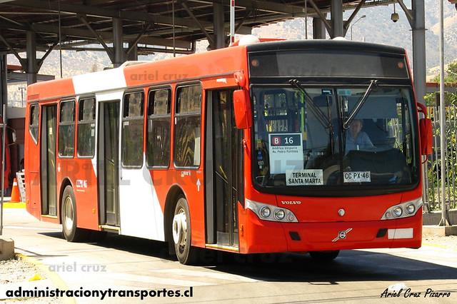 Transantiago - Buses Gran Santiago - Caio Mondego L / Volvo (CCPX46)