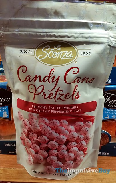 Sconza Candy Cane Pretzels