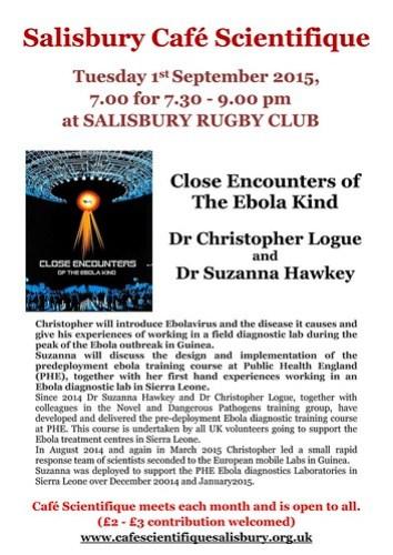 Close encounters of the Ebola kind
