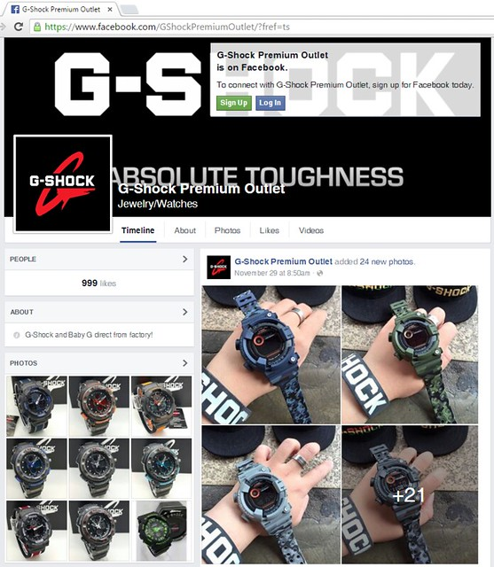 G-Shock Premium Outlet