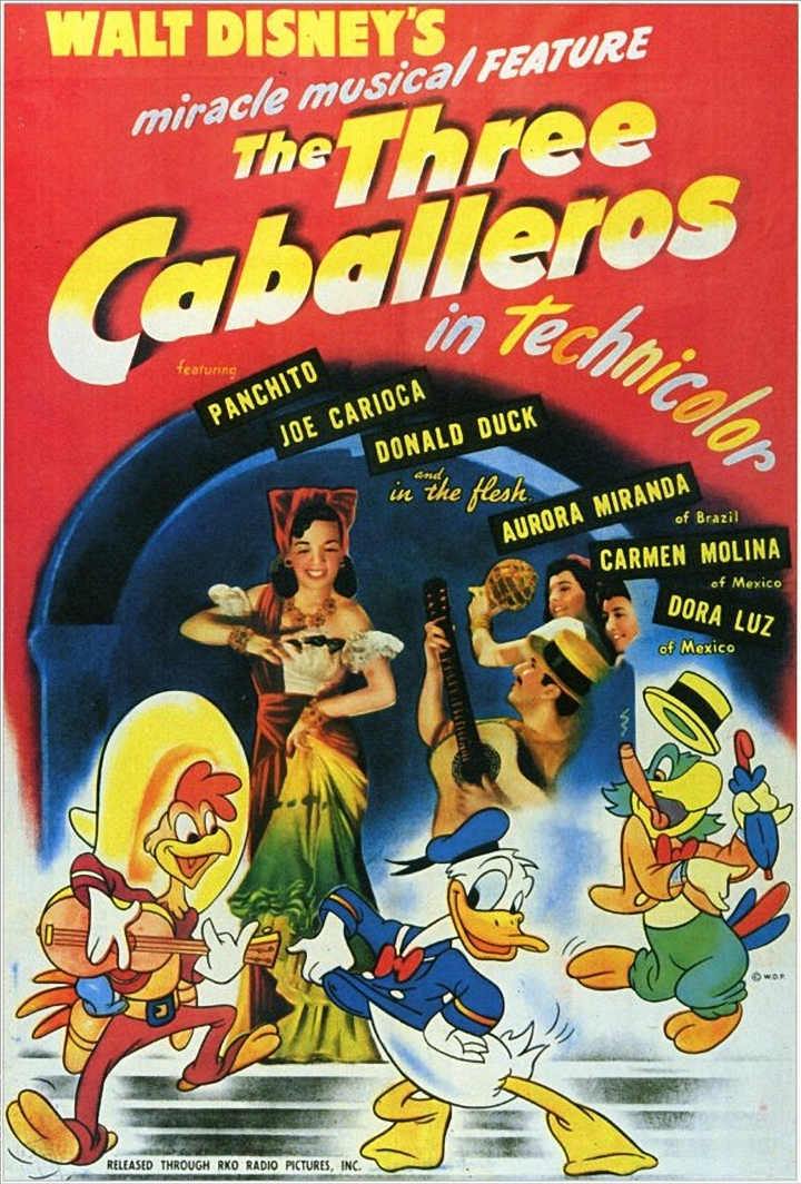 Disney-tiistai: Kolme caballeroa