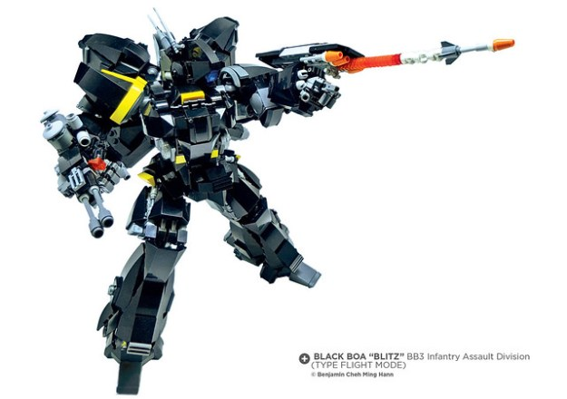 "Black Boa ""Blitz"" BB3 Type Flight Mode"
