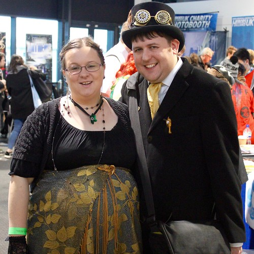Christine and I at this year's Thought Bubble