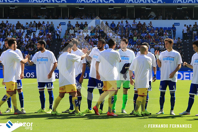 Temporada 15/16. Jornada 4ª.  R.C.Deportivo 2 - R. Sporting Gijón 3